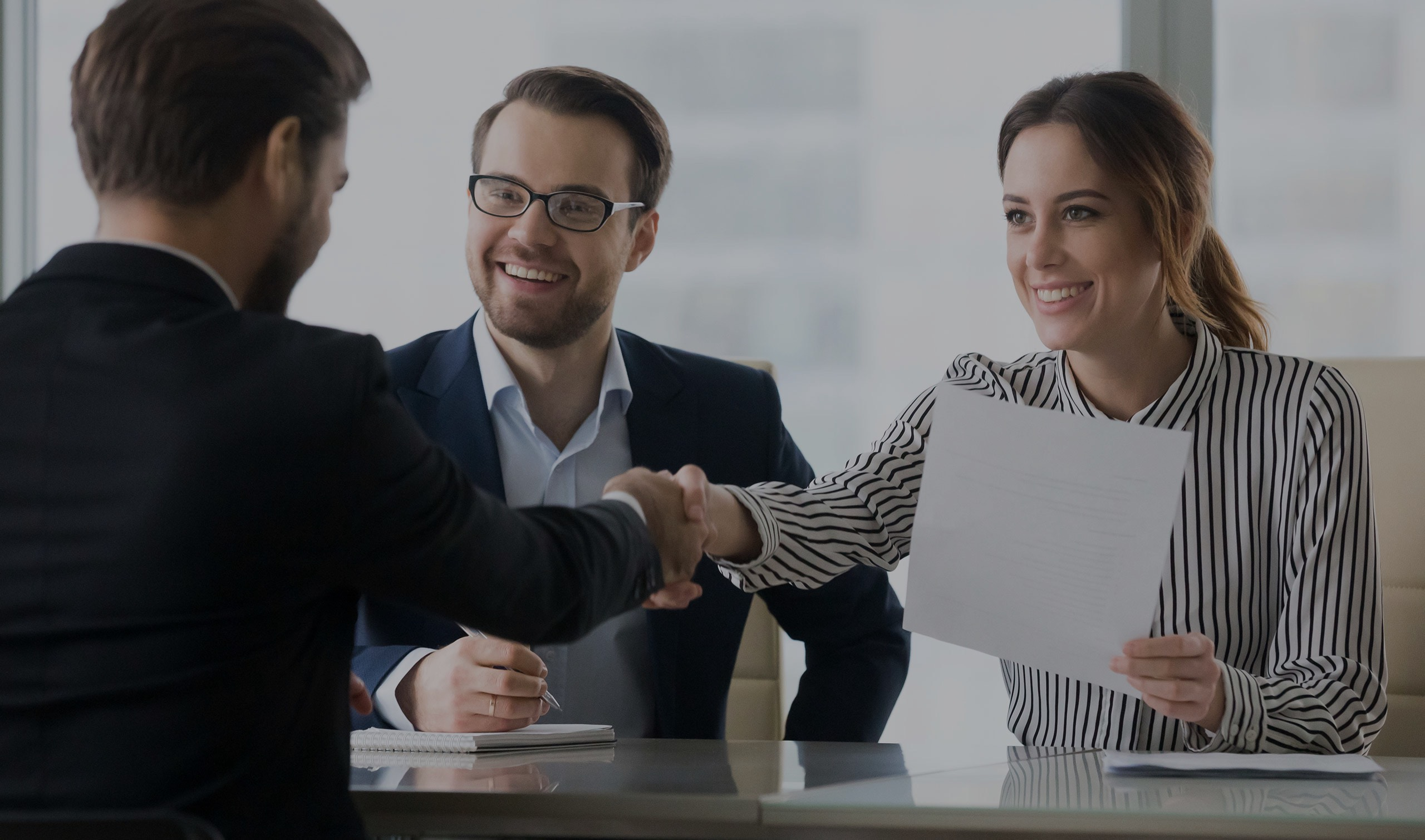 We connect people and job opportunities